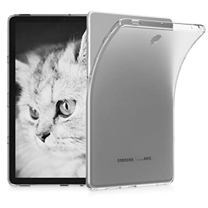 kwmobile Samsung Galaxy Tab S4 10 5 Case - Crystal TPU Cover for Samsung  Galaxy Tab S4 10 5 - Transparent