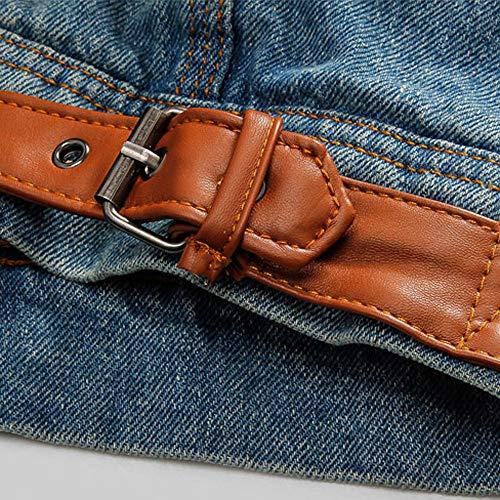 Casual Invernali Cappotto Cappotti Lunga In Manica Di Uomo Uomo Jeans Autunno Blu Parka Invernale Pelliccia Giacche Giacca Capispalla Luoluoluo A Da tIAxdYI