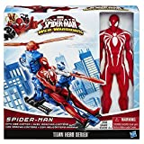 Marvel Ultimate Spider-Man Web Warriors Titan Hero Series 12-Inch Spider-Man with Web Copter by Spider-Man
