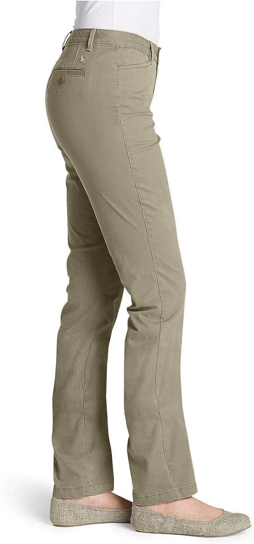 Curvy Fit Eddie Bauer Womens Stretch Legend Wash Pants