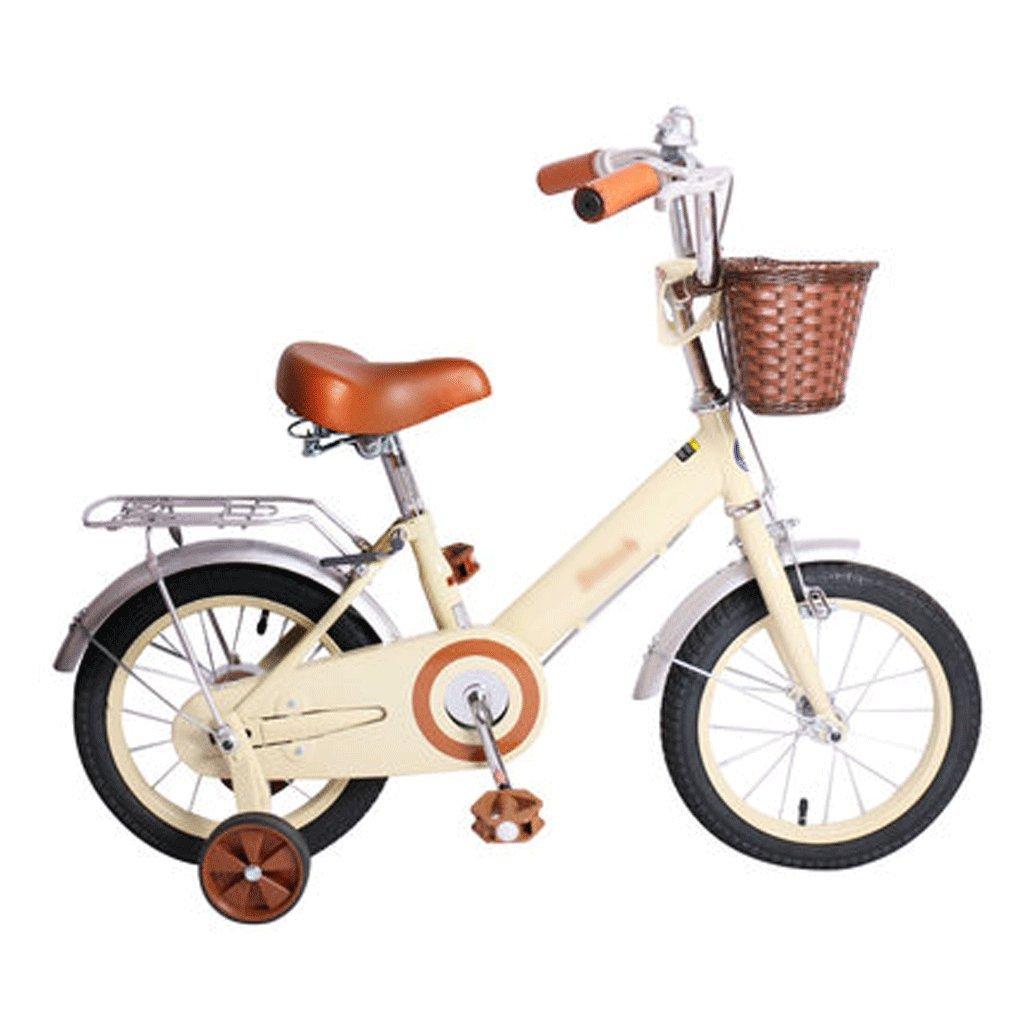 自転車 Advertencia: Para ser utilizado bajo la supervisión directa de un adulto 子供の自転車16/14/12/18インチの女の子の自転車2-4-5歳の赤ちゃんの少女の赤ちゃんキャリッジ (サイズ さいず : 14inch) B07DPN7PLR14inch
