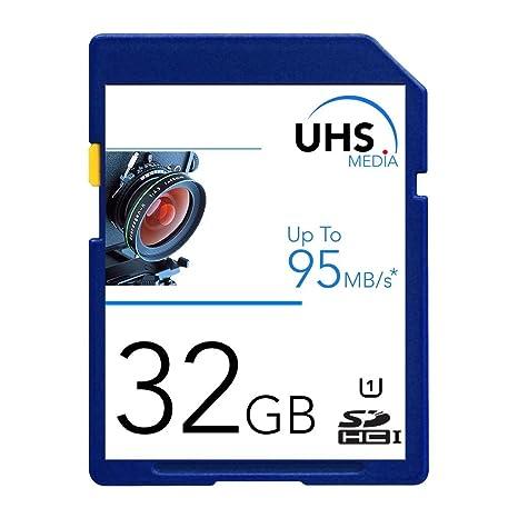 UHS medios de comunicación 32 GB tarjeta de memoria para ...