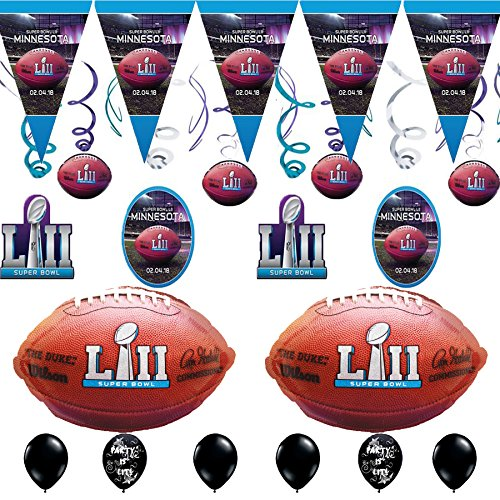 Super Bowl 52 Party Decorating Bundle Super Bowl Toy