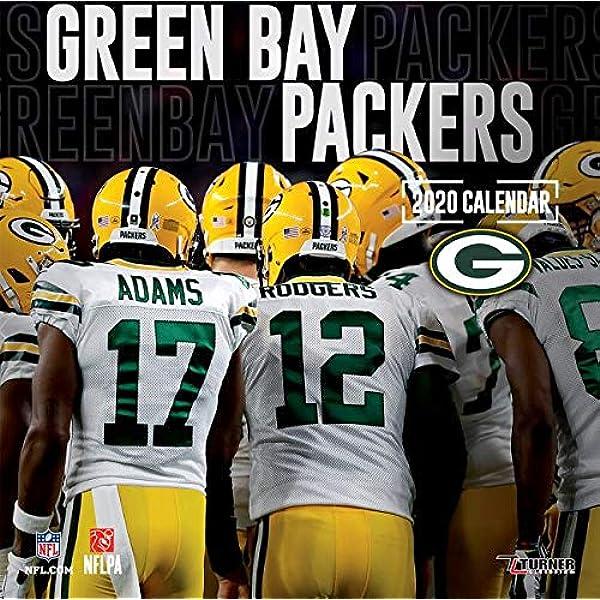 Green Bay Packers 2020 Calendar Lang Companies Inc 0841622134694 Amazon Com Books
