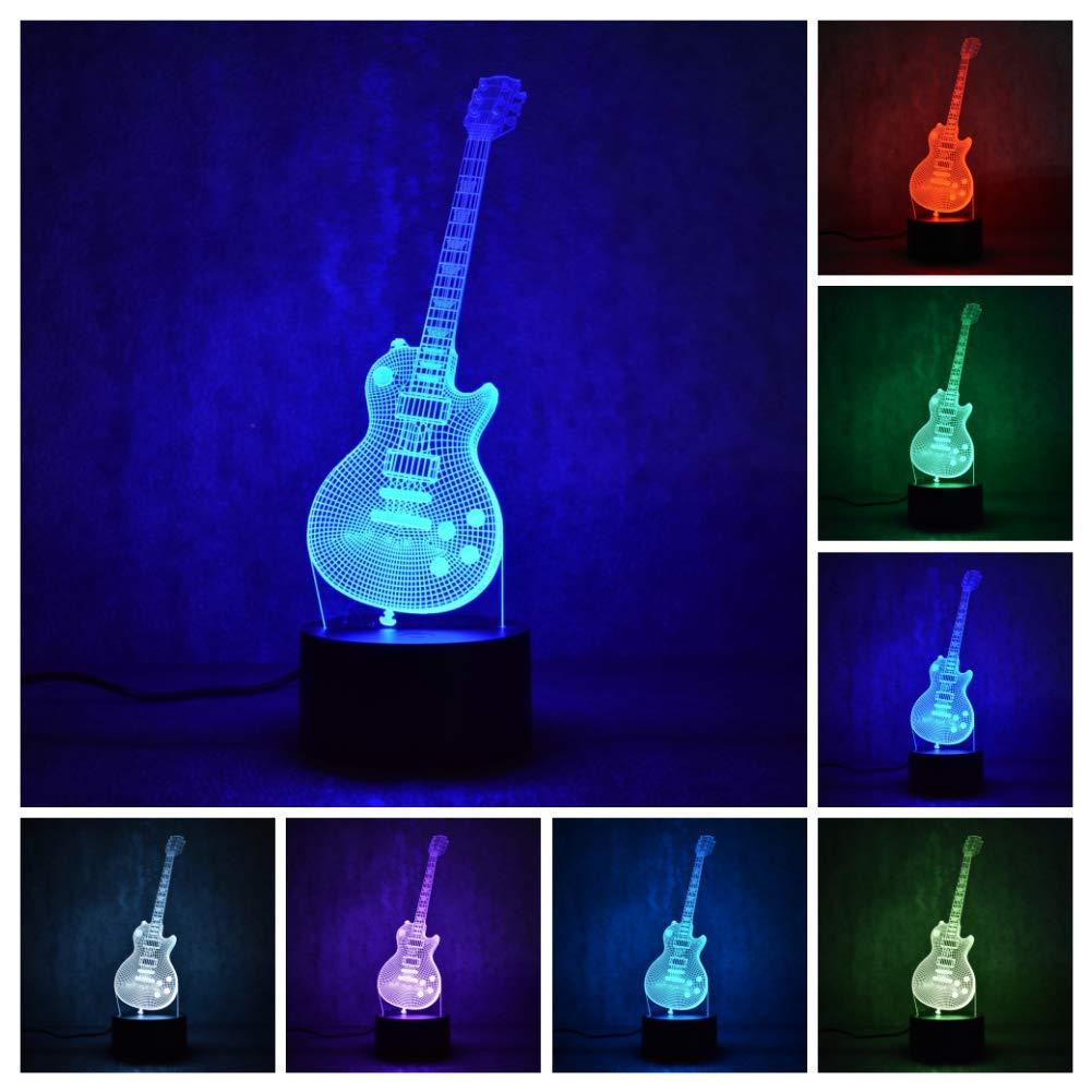 Etzon Dinosaur Night Light for Kids Birthday Gift 7 Color-Changing 3D Night Light Dinosaur for Boys Optical Illusion 3D Lamp Kids'Room Decor Etzon Technologies