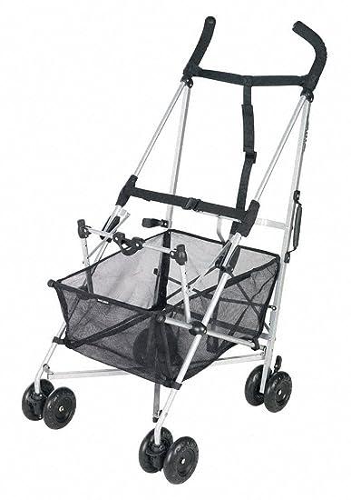 Amazon.com : Maclaren Easy Traveller Car Seat Carrier, Silver/Black