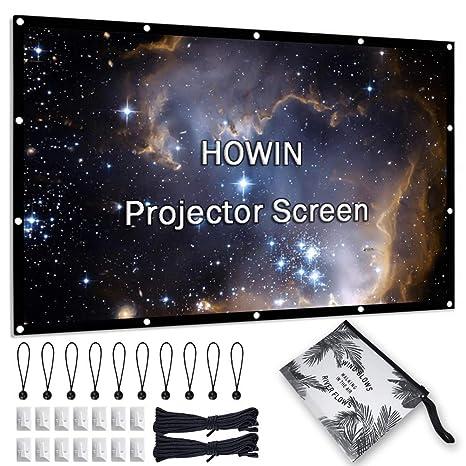 Amazon.com: Pantalla de proyector de 84 pulgadas, 4k 16:9 ...