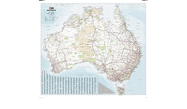 Mapa grande de Australia, 40.5