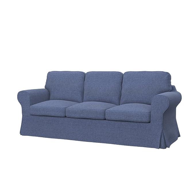 Soferia - IKEA EKTORP Funda para sofá de 3 plazas, Naturel ...