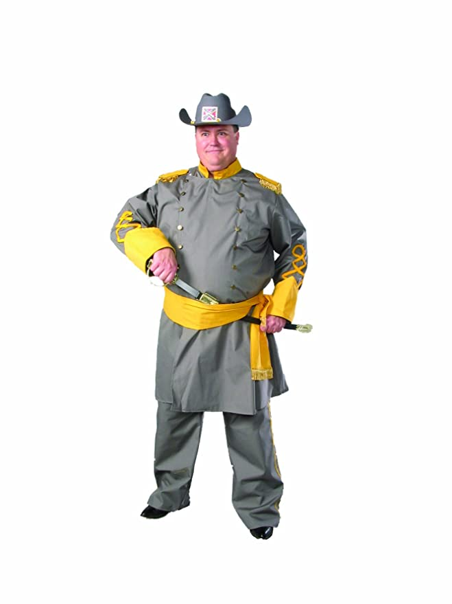 Victorian Men's Costumes: Mad Hatter, Rhet Butler, Willy Wonka Alexanders Costumes Plus-Size Confederate Officer $139.00 AT vintagedancer.com