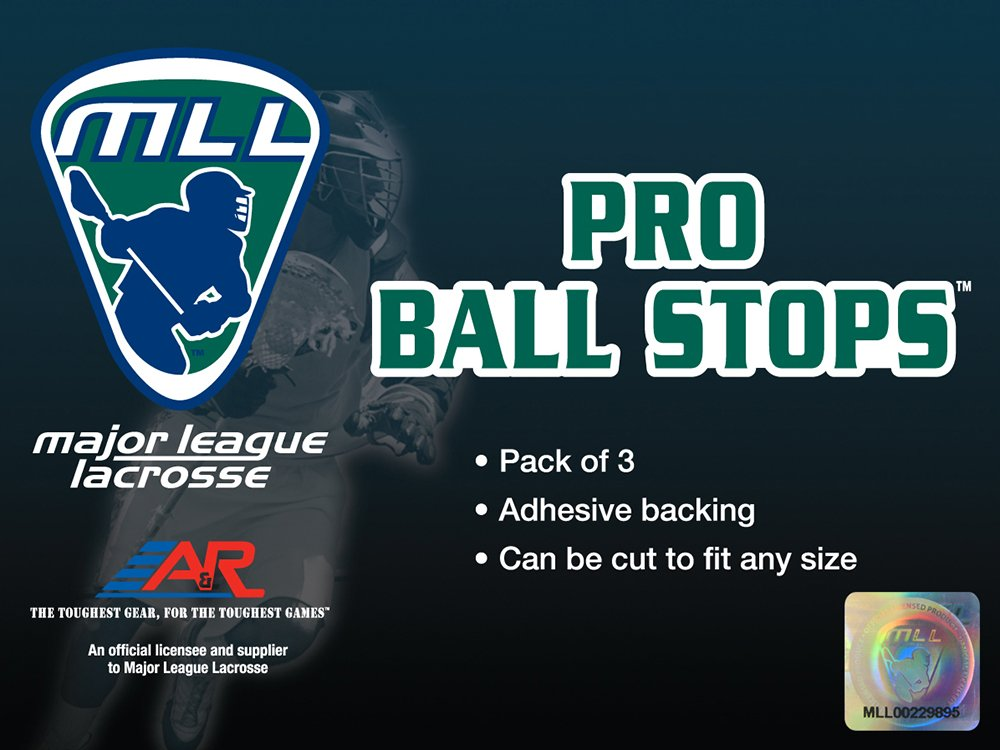A&R Sports Major League Lacrosse Pro Ball Stops Bounce Reducer