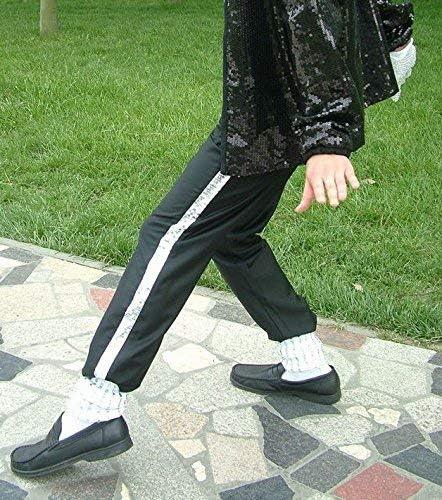 Pelle Artificiale Suola Liscia Facile da Spingere Scarpe da Uomo Donna Michael Jackson Scarpe da Ballo Moon Walk Scarpe da Ballo Unisex