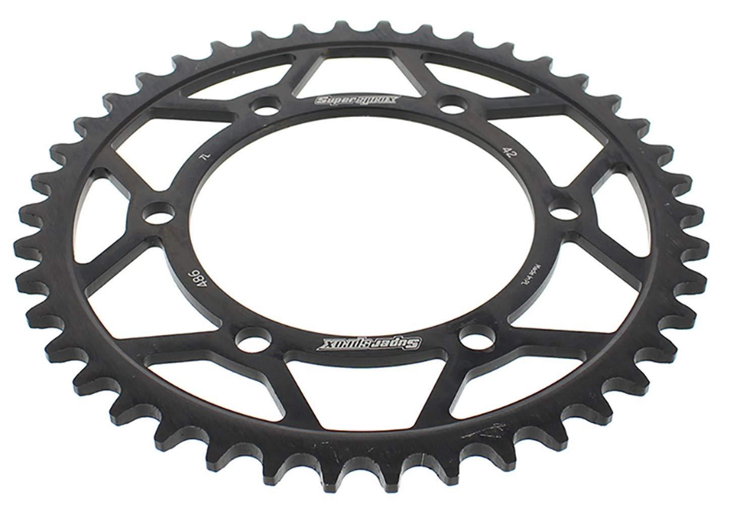 Amazon.com: Supersprox Steel Sprocket Black 42T - RFE-486-42 ...