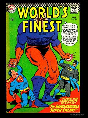 World's Finest Comics #158 VF 8.0