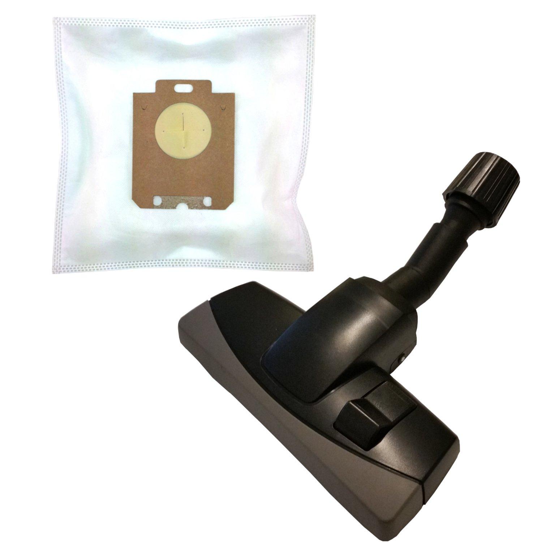 Accesorios para aspiradoras aspiradora umschaltbare universal Boquilla con protección para muebles para Electrolux ZUS 3300hasta 3399Ultra SI 20Bolsas de tela Juegos de accesorios para aspiradoras