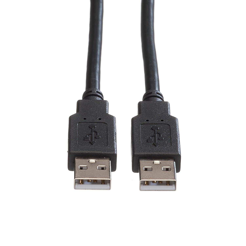 Rotronic ROLINE USB 2.0 Kabel | A-Stecker auf A-Stecker: Amazon.de ...