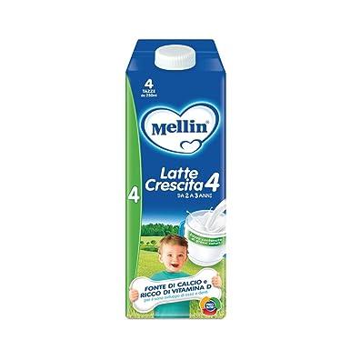 Mellin 4 Leche de crecimiento líquido - 6 botellas de 1000 ...