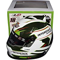 $249 » AUTOGRAPHED 2019 Kyle Busch #18 Interstate Batteries Racing (Beam Designs) CHAMPIONSHIP SEASON Monster Cup Series Signed NASCAR…