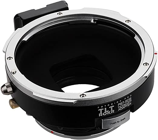 Fotodiox Pro Tlt Rokr Tilt Shift Lens Mount Adaptor Camera Photo