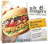 Dr. Praeger's Mushroom Risotto Veggie Burgers, 10 Ounce