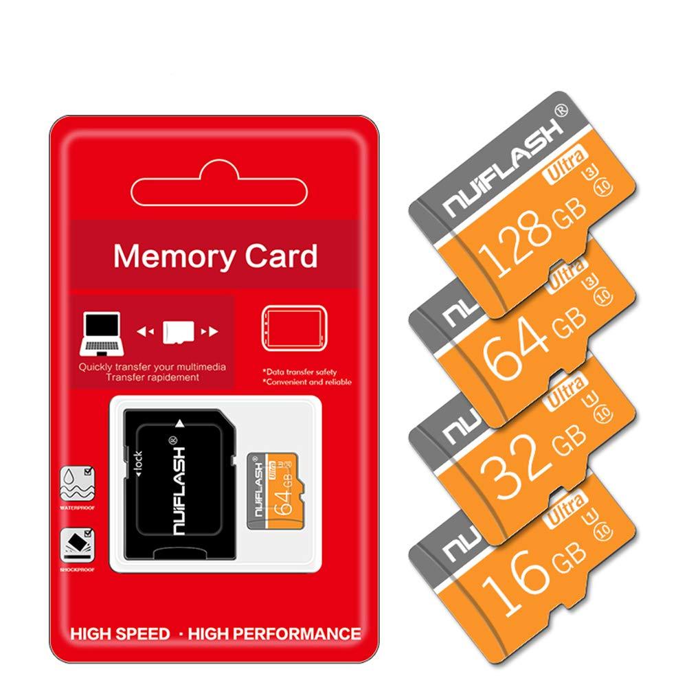 AZLMJXH Tarjeta de Memoria SD, Clase 10 de 64GB Tarjeta Micro SD ...