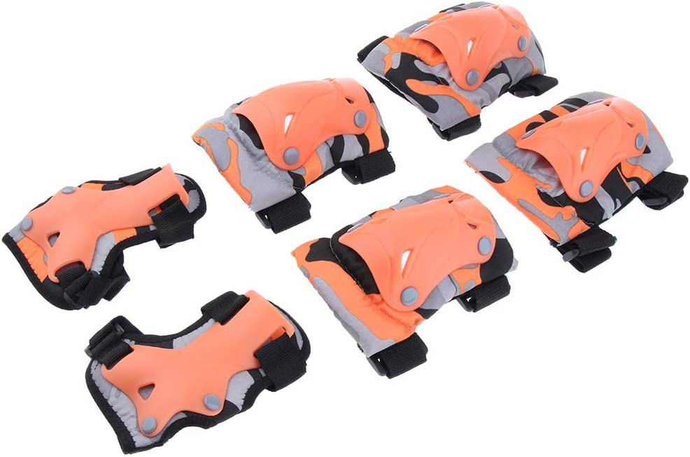 Baosity Kids Child Skating Scooter Protective Gear Knee Elbow Hand Pads Set