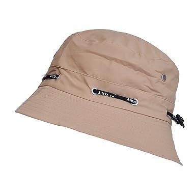0e4709c3 TOUTACOO, Adjustable Summer Bucket Hat - Unisex Africa: Amazon.co.uk:  Clothing