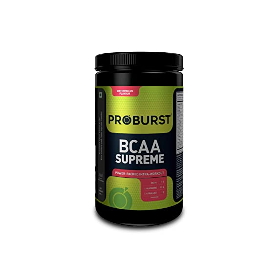 [Apply coupon] Proburst BCAA Supreme |Supplement For Pre , Post or Intra Workout 400 gm - Watermelon