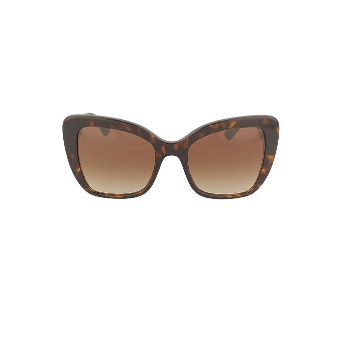 Dolce & Gabbana 0DG4348 Gafas de sol, Havana, 54 para Mujer ...