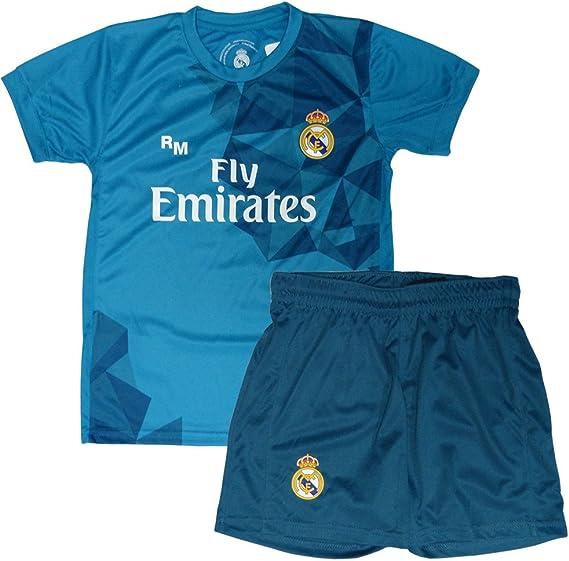 Kit Real Madrid Oficial Tercera Equipación (Camiseta y Pantalón ...