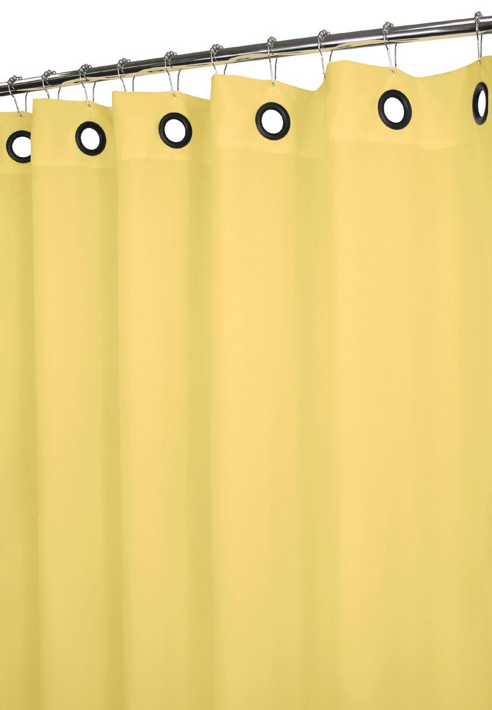 Amazon com park b smith dorset solid large grommet shower curtain aloe home kitchen
