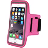 Refoss Sports Armband for iPhone 7 Plus, Water Resistant Running Armband with Key Holder for iphone 8 Plus, 7 Plus, 6 Plus(5.5-Inch), 6S, 7, 6, Galaxy S7/S6/S5, Note 4 with Screen Protector
