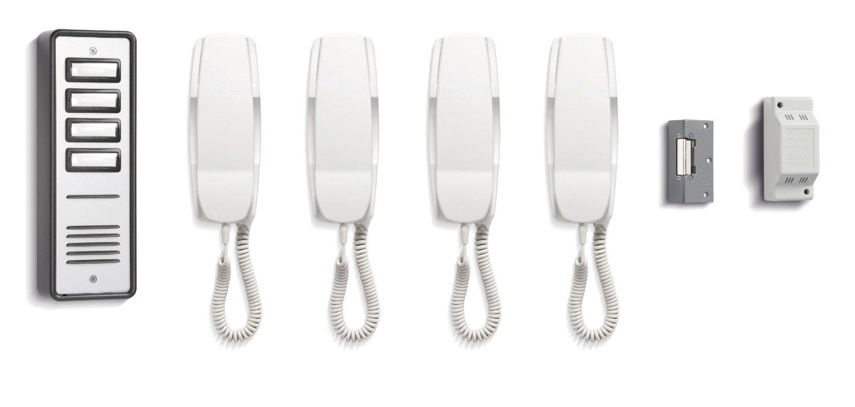 Tc243 Bell 904 4 Way Audio Door Entry Intercom System With Lock