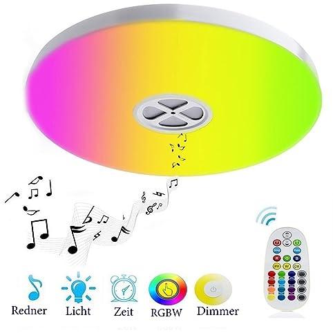Huamai 24 Watt Deckenlampe , mit integriertem Bluetooth ...