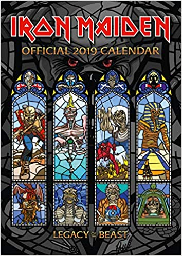 Iron Maiden Official 2019 Calendar - A3 Wall Calendar Format por Iron Maiden epub