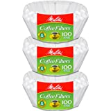 Melitta Junior Basket Coffee Filters White 100 Count (3)