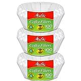 Melitta Junior Basket Coffee Filters White 100 Count (3)