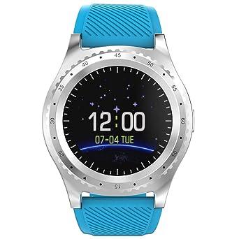 Amazon.com: Reloj inteligente WISHDOIT SN06 desbloqueado con ...