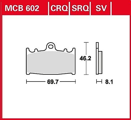 Freno Lucas MCB602SRQ para GPZ 900 R Ninja ZX900 A | KR de ...