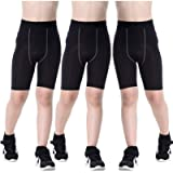 Sanke Youth Boys Soccer Running Shorts Sports Athletic Compression Short Leggings/Tights for Girls