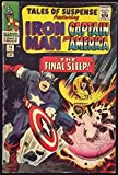 TALES OF SUSPENSE #74 FN/VF IRON MAN & CAPTAIN AMERICA
