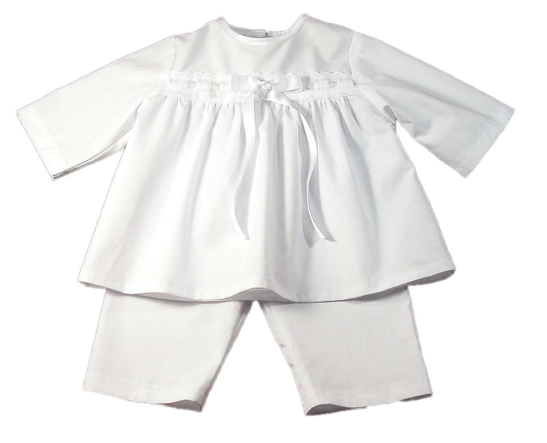 Bateo Design Taufanzug Kai mit weißer Schleife