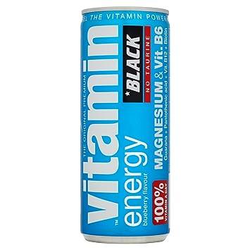 BLACK VITAMIN ENERGY BEBIDA ESTIMULANTE SIN TAURINA - ST
