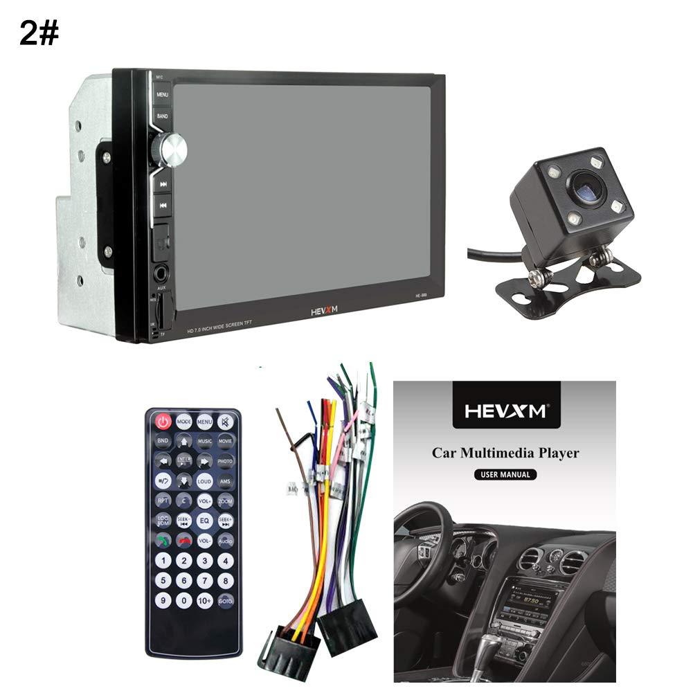 dulawei3 HEVXM MP5 7インチ HD タッチスクリーン Bluetooth 自動車ラジオプレーヤー Android iOS用 dulawei3  2# B07P7LNPYR
