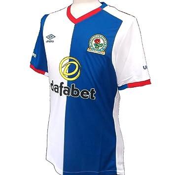 1681b08a58d Blackburn Rovers FC Home Shirt 2016-2017 (X-Large)  Amazon.co.uk ...