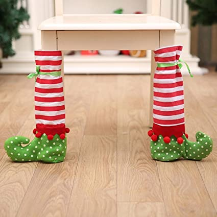 Home Textile Chair Cover Generous New Santa Claus Cap Xmas Christmas Decorations For Home 1pcs Chair Cover Christmas Dinner Table Party Red Hat Chair Back Covers