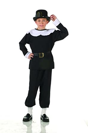 OvedcRay Pilgrim Boy Puritan Pioneer Thanksgiving Colonial Settlers Amish Child Costume  sc 1 st  Amazon.com & Amazon.com: OvedcRay Pilgrim Boy Puritan Pioneer Thanksgiving ...