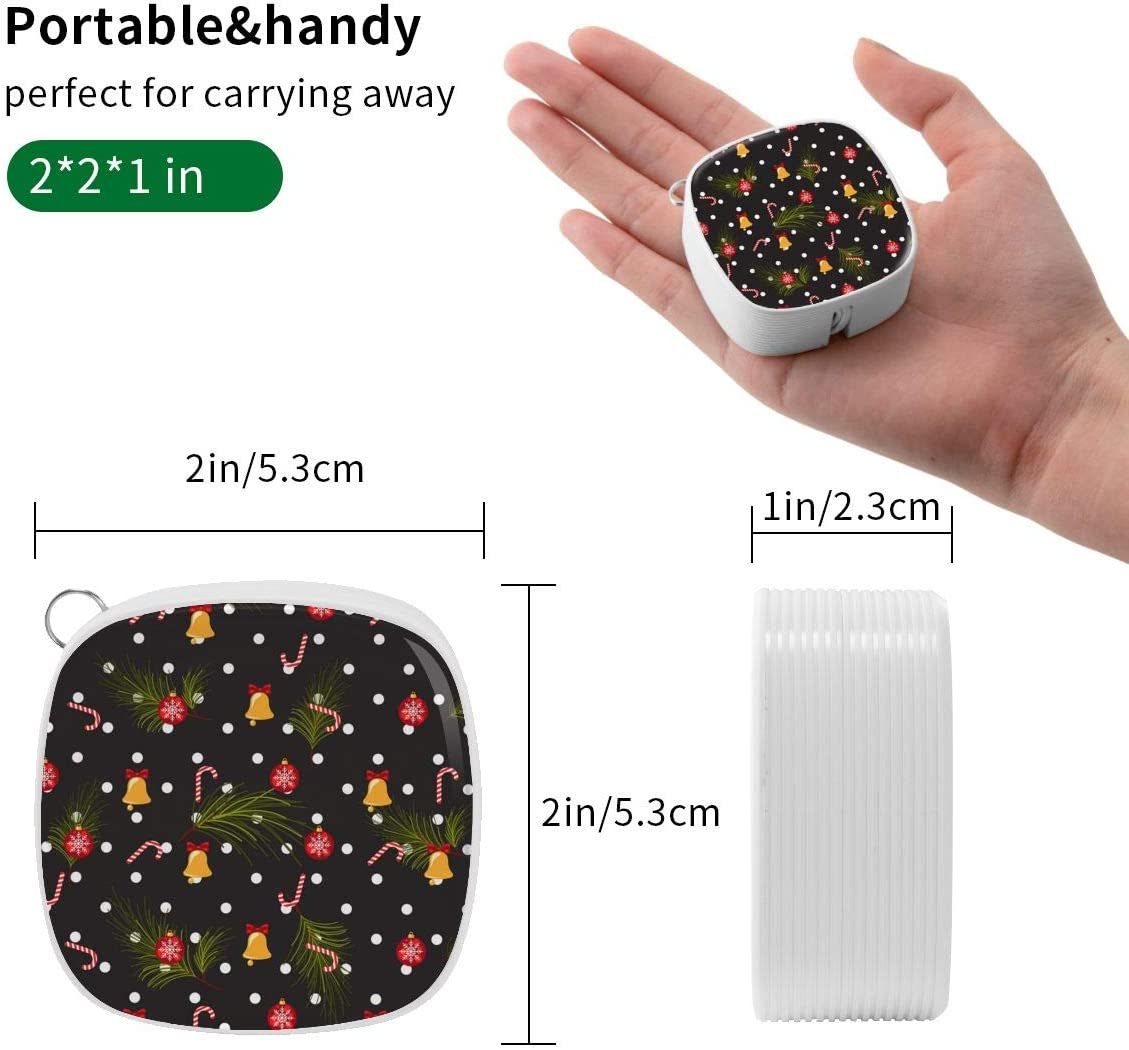 Universal Interface Data Lines for All Kinds of Mobile Phones and Tablets Christmas Polka Dot Dark Seamless Pattern