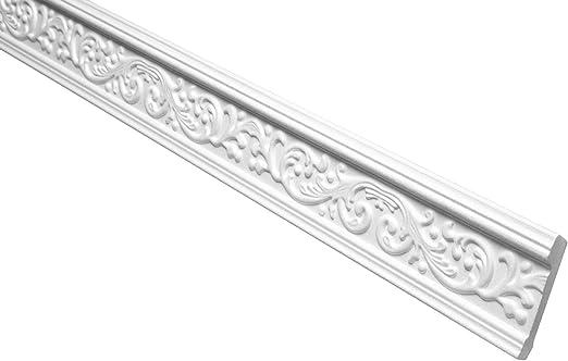 10 Faire Profil Coinc/é Eps Formfest Marbet 41x66mm B-18 blanc 20 Meter