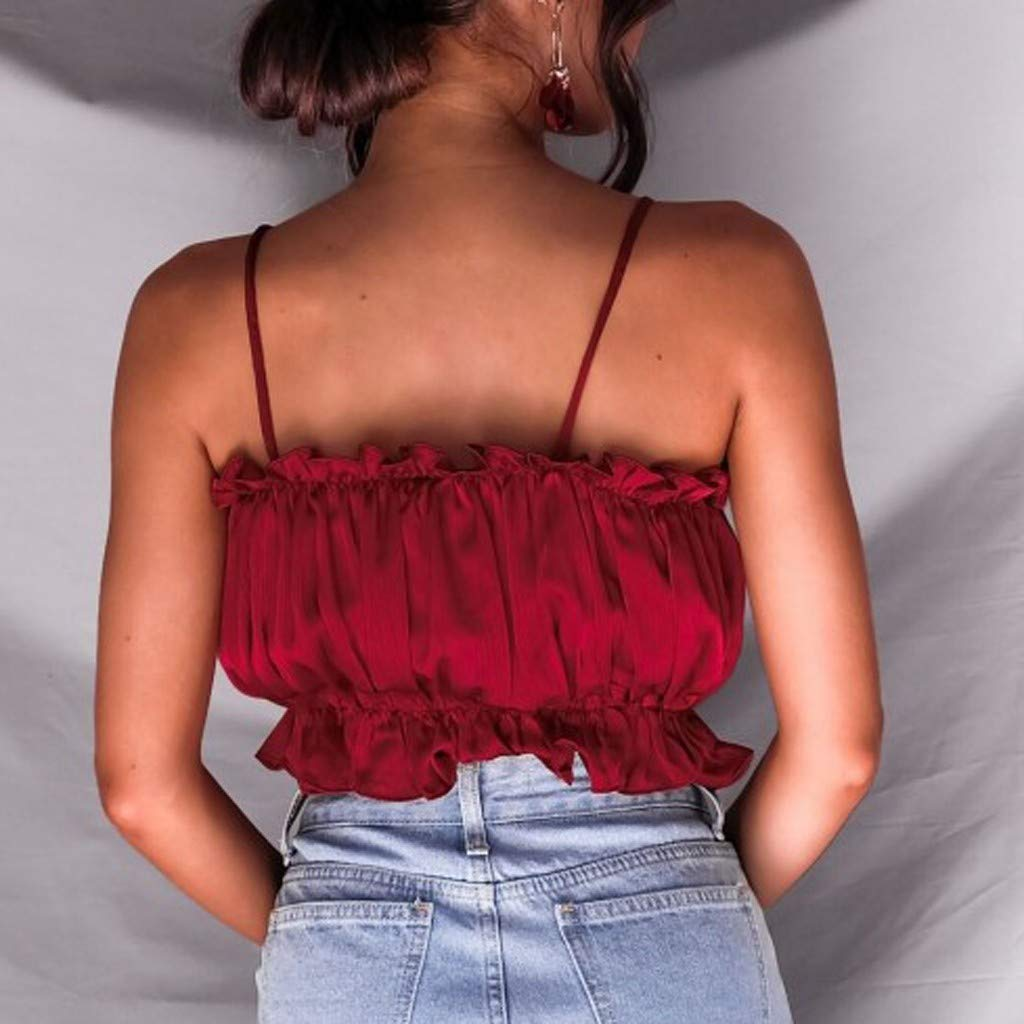 AOJIAN tops for women,tops for women sexy,tops for teen girls,tops for women, blouses for women,blouses for women fashion 2019,blouses for women plus size,blouses for women Wine by AOJIAN (Image #4)
